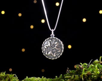 Sterling Silver Celtic Horses - (Pendant or Necklace)