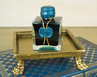 J. Herbin 1670 Dip & Fountain Pen Ink Bottle - Emeraude de Chivor 50ml