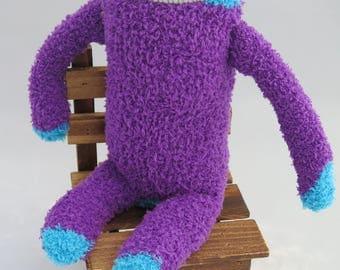 Raisin Sloth - Sloth Plush Sock Animal