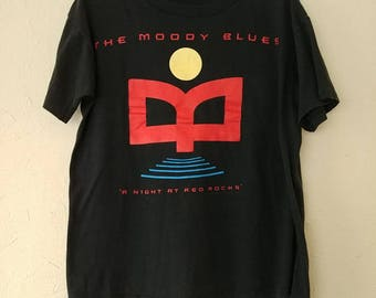 The Moody Blues /1993 / A Night At Red Rocks / large / 90's / Brockum Worldwide Promo Tee