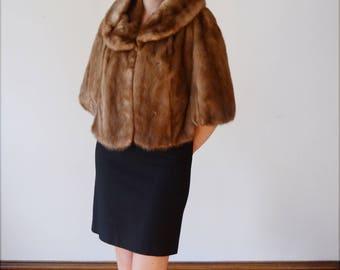 1960s Hudsons Mink Fur Stole