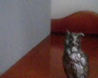 Pewter Owl