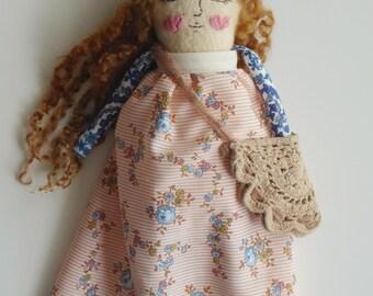 Windsong Hippie Art Doll