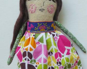 Iota Hippie Art Doll