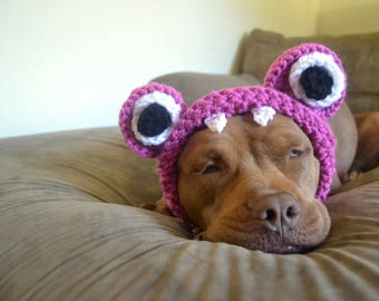 Monster Dog Hat - Dog Hat - Hats for Dogs - Gift for Pet Lovers - Animal Hat - Monster Hat - Doggie Hat