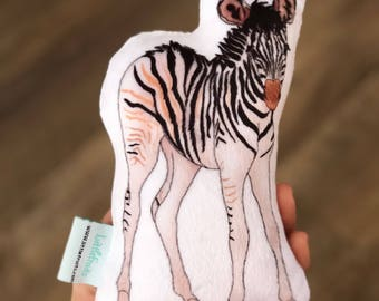 Zebra Plush Toy - Kids Gift Idea - Gift for Babies, Toddlers - Wild Animal  Stuffed Toy - Zoo Animal, Jungle Animal - Baby Nursery Decor