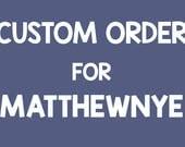 "CUSTOM ORDER for MatthewNYE - Two 5""x7"" watercolor paintings"