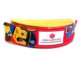 Kids Medical Alert Bracelet Child ID Bracelet Allergy Alert Clothing Autism Safety Band Paw Patrol