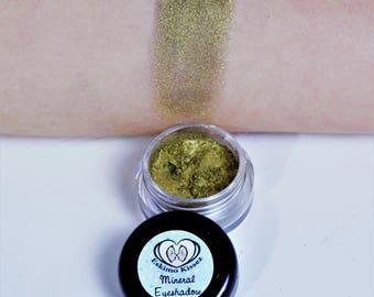 Mineral Eyeshadow MIDAS TOUCH Organic Makeup 5 gram jar