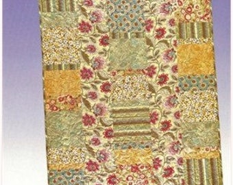 5 & Dime Quilt Pattern from All Washed Up - Fat Quarter Friendly in 3 Sizes: Lap, Throw, and Queen