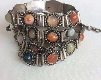 Vintage Gemstone Belt Bohemian Style
