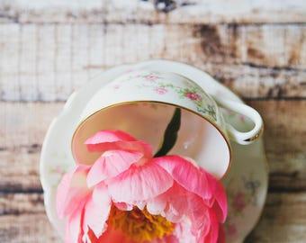 Flower Tea ~ 8x10 photo print