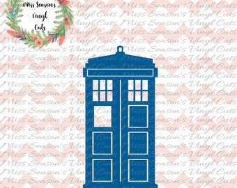 Doctor Who Tardis SVG,  DXF, Eps, PNG files - Doctor Who Tardis Clipart | Tardis Svg Files | Whovian Svg Files|  Personal Use