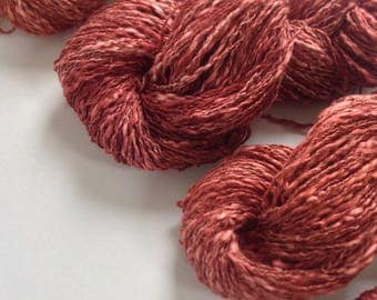 BELLA ~ Plant dyed ~ Colours by Nature~ Cotton Linen Yarn hand dyed