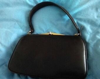 Vintage Brown Leather Purse I. Magnin