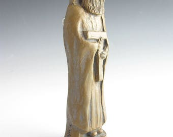 St. Joseph: For a Peaceful Death; Handmade Statue
