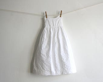 Mexican White Dress 12 mo