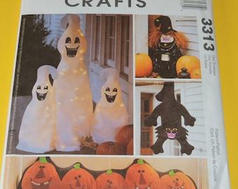 Uncut McCalls 3313 Halloween Decoration Pattern