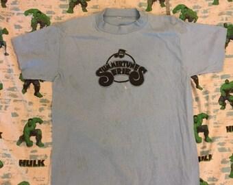 Vintage 80's Summertunes Series  paper thin t shirt size M