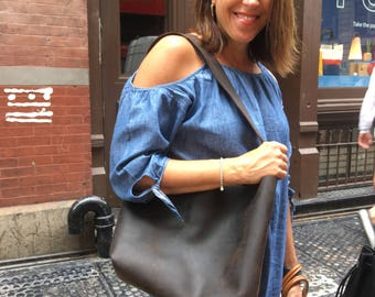 Shoulder tote, Handmade leather bags, Brown leather tote purse, Shoulder bag purse, Over the shoulder handbags, Handmade leather tote bag