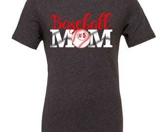 Baseball Mom Shirts - Sports Mom Shirt - Gift for Mom