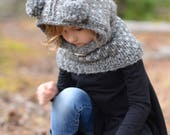 KNITTING PATTERN - Dior Dapple Cowl (3/6 month - 6/9 month - 12/18 month - Toddler - Child - Teen - Adult sizes)