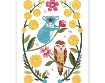 Koala & Owl