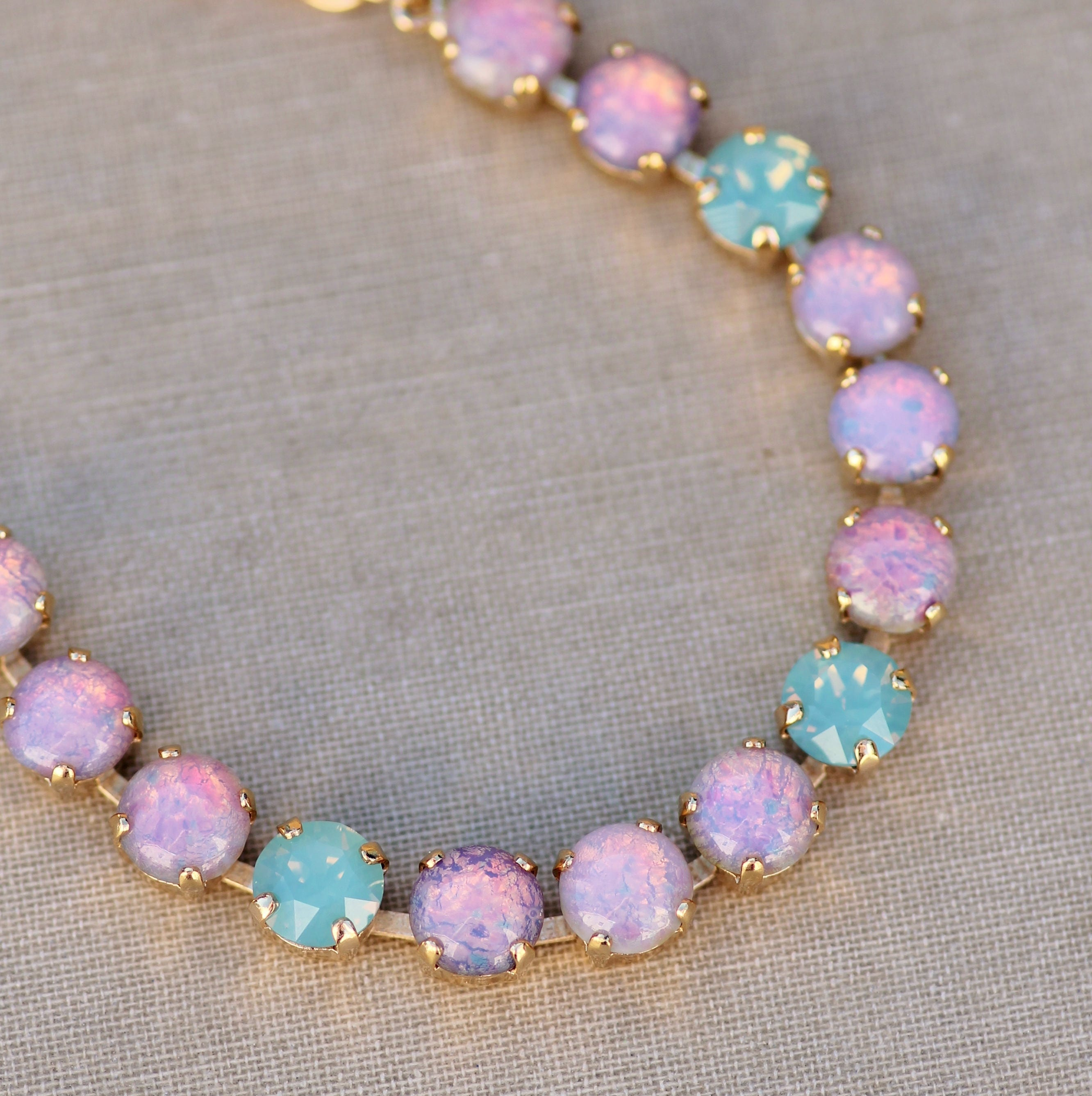 pink products oak bracelet alethea jewelry opal one boutique online