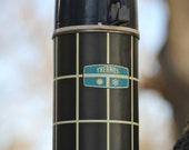 Beautiful vintage Thermos USA Made from the 1970s - Windowpane veneer - lovely half pint size