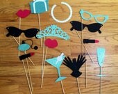 Breakfast at Tiffany's Decorations - Photo Booth Props - Baby Shower - Birthday Party - Bridal Shower - Anniversary - Party - Decor