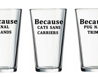 Custom Veterinary Technician Beer Glass, Vet Beer Glass, Vet Assistant Glass, Veterinary Gift, Veterinary Technician Gift, Vet Tech Humor