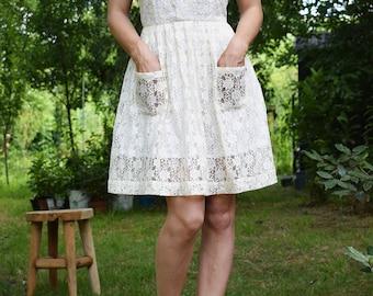 La robe Ninon dentelle / The lace ninon dress