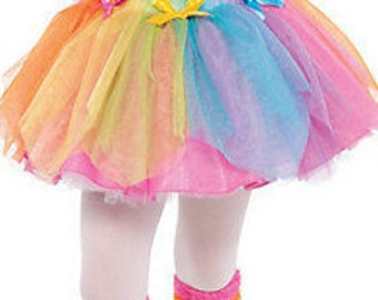 Tutu Rainbow Fairy Tutu Toddler Tutu Unicorn Party Tutu Dress Up Tutu Birthday Tutu Dance Tutu Pageant Tutu My Little Pony Tutu Girl's Tutu