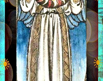 William Morris 'Sun Angel' Art Bookmark