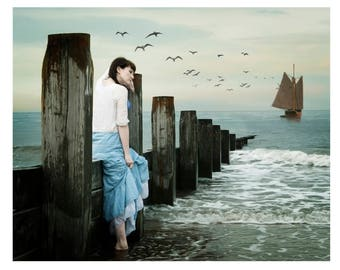 """Mounted Fine Art Photography Print - """"The Departure"""""""
