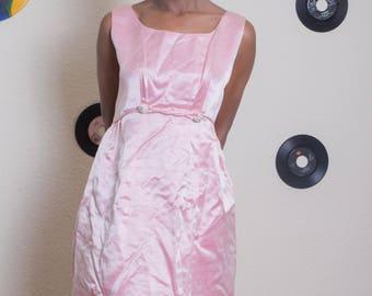 Soft Pink Short 40's dress