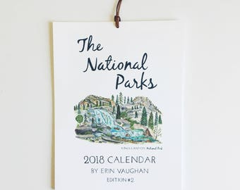 2018- Edition #2 National Park Calendar