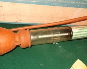 Man Cave Decor Mechanic Tool Imperial Brass Antifreeze Tester Auto Tool Home Bar Decor Bare Knuckle Garage Tool