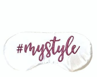 MY STYLE Hashtag sleep eye mask