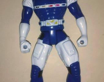 Blue Power Ranger action figure Bandai 1997