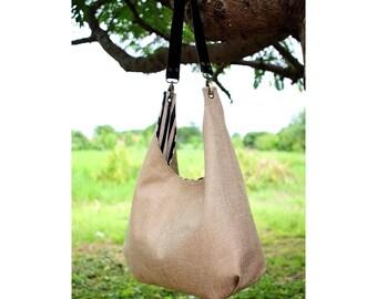 Shoulder bag, Hobo bag leather strap
