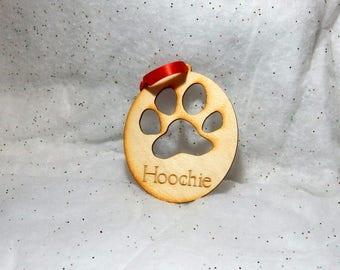 Ornament, Dog Paw, Dog Paw Ornament, Pets, Christmas Ornament, Ornaments