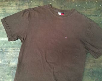 90s Tommy Hilfiger Small Logo T-Shirt