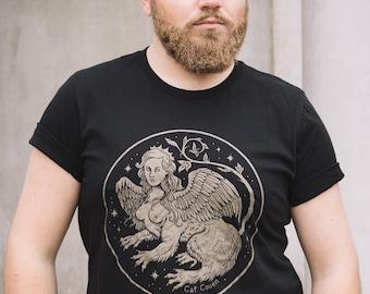 The Sphinx - Crew Neck T-shirt