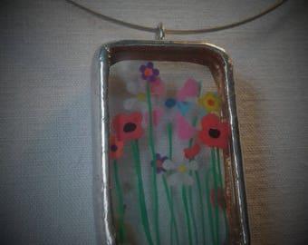 "Necklace ""Flower"""