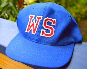 Vintage 80s/90s West Seattle Baseball Cap