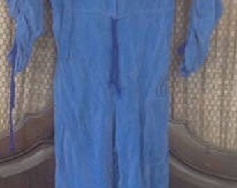 All Silk Jumpsuit 1980's