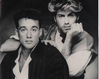 """WHAM The Edge Of Heaven 1986 South Africa Issue Very Rare 7"""" 45 rpm Vinyl Single Record pop dance 80s music George Michael EN5947"""