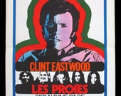 The BEGUILED CLINT EASTWOOD original French movie poster 1971