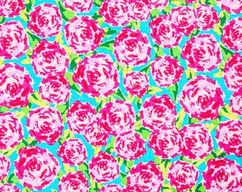 Patty Reed Rosey Posie Fabric Fat Quarter